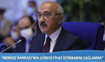Bakan Elvan'dan Merkez Bankası yorumu