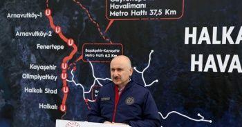 Bakan Karaismailoğlu: Gebze'den İstanbul Havalimanı'na kadar erişim sağlanacak