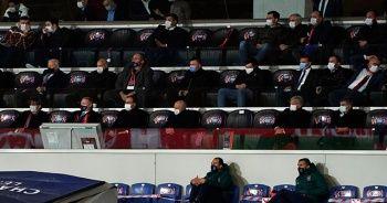 Bakan Kasapoğlu, Başakşehir-Manchester United maçında