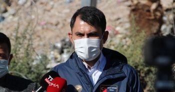 Bakan Kurum: Bayraklı'daki hasar tespit çalışmaları tamamlandı