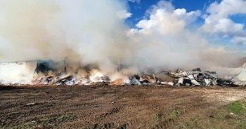 Bandırma'da depo yangını