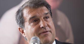 Barcelona'da Joan Laporta başkanlık adaylığını açıkladı