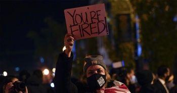 Beyaz Saray yakınındaki protestolarda 1 kişi gözaltına alındı