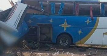 Brezilya'da katliam gibi kaza: 37 ölü, 15 yaralı