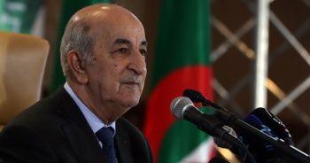 Cezayir Cumhurbaşkanı korona virüse yakalandı