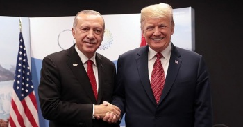 Cumhurbaşkanı Erdoğan, ABD Başkanı Trump'a mesaj