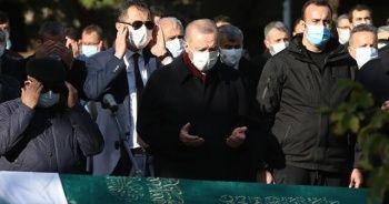 Cumhurbaşkanı Erdoğan, Ticaret Bakanı Pekcan'ın annesinin cenaze törenine katıldı