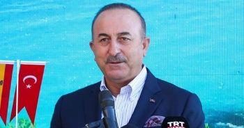 Dışişleri Bakanı Çavuşoğlu'ndan masada ve sahada güçlü duruş vurgusu