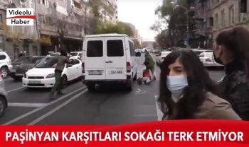Ermenistan'da Paşinyan karşıtı protestocular yolları kapattı