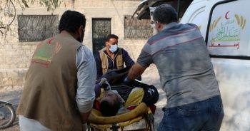Esad rejiminin İdlib'e saldırısında 1 sivil öldü
