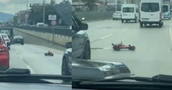 Eşinin gazına gelen sürücüye ağır ceza
