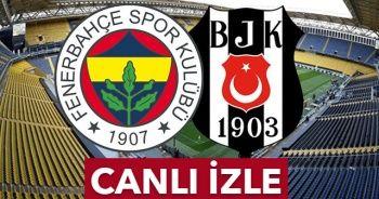 Fenerbahçe Beşiktaş maçı.beınsport İZLE | FB-BJK maçı kaç kaç ilk 11'ler