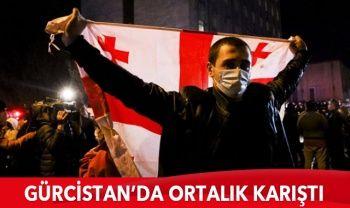 Gürcistan'da göstericiler Seçim Komisyonu binasını kuşattı