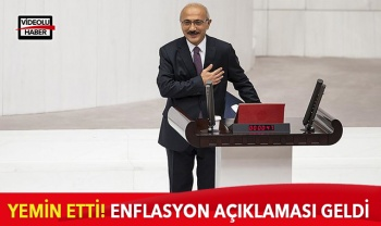 Hazine ve Maliye Bakanı Lütfi Elvan yemin etti