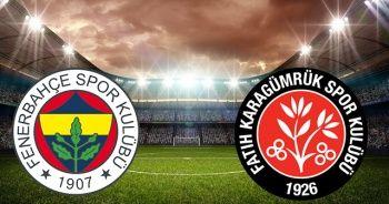 Hazırlık Maçı: Fenerbahçe - Fatih Karagümrük maçı canlı izle
