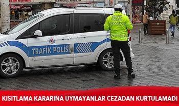 İçişleri Bakanlığı açıkladı: 9 bin 583 kişiye ceza kesildi