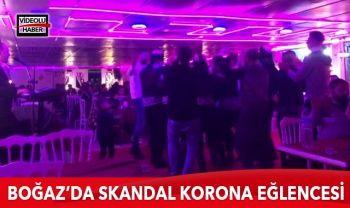 İstanbul Boğazı'nda skandal 'korona eğlencesi'