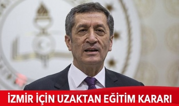 İzmir'de bir hafta daha uzaktan eğitim yapılacak