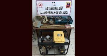 Kaçak kazı yapan 3 şahıs gözaltına alındı