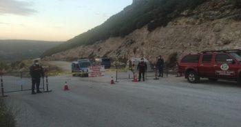 Karacasu'da bir mahalle karantinaya alındı