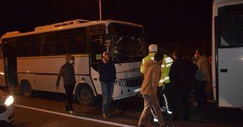 Malatya'da viyadükte zincirleme kaza: 4 yaralı