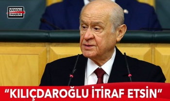 MHP Lideri Bahçeli: Kılıçdaroğlu hayreti bıraksın, haysiyetle itiraf etsin
