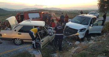 Milas'ta feci kaza: 1 ölü, 3 yaralı