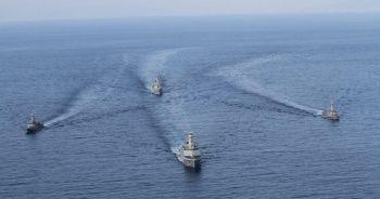 Milli Savunma Bakanlığı açıkladı: Doğu Akdeniz'de Turgutreis-5 Tatbikatı yapıldı