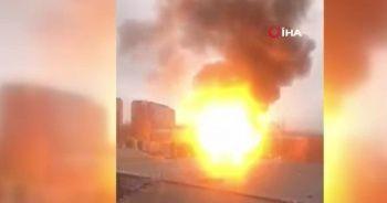 Moskova'daki gaz deposunda büyük patlama