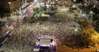 Netanyahu karşıtları sokaklara indi