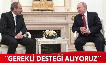 Paşinyan'dan Rusya itirafı