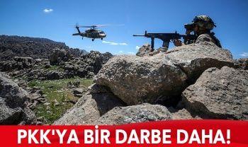 PKK'ya darbe üstüne darbe! 3 terörist daha etkisiz hale getirildi