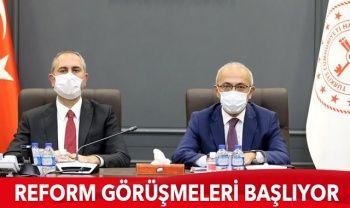 Reform görüşmelerinin ilki TÜSİAD'la yapılacak