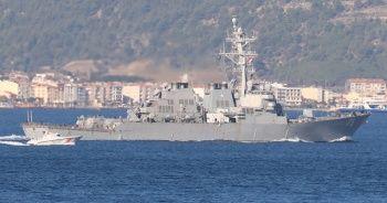 Sahil Güvenlik'ten ABD savaş gemisine yakın temas
