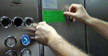 """Sayıları 550 bini aşan asansörleri """"deprem anında kullanmayın"""" uyarısı"""