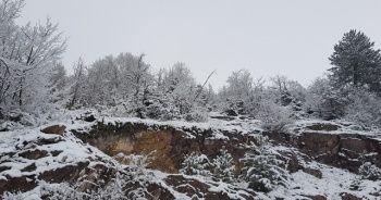Sinop'a yılın ilk karı düştü