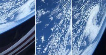 SpaceX'in astronotu yörüngeden Dünya'yı görüntüledi