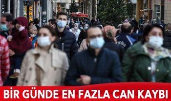 Türkiye'de koronavirüste son durum: 5103 yeni hasta, 141 can kaybı