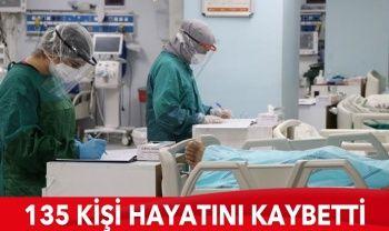 Türkiye'de koronavirüste son durum: 5532 yeni hasta, 135 can kaybı