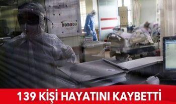 Türkiye'de koronavirüste son durum: 6017 yeni hasta,139 can kaybı
