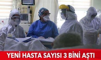 Türkiye'de son durum: 3045 yeni hasta, 93 can kaybı