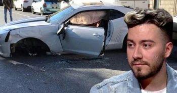 Ünlü youtuber Enes Batur feci kazada ölümden döndü