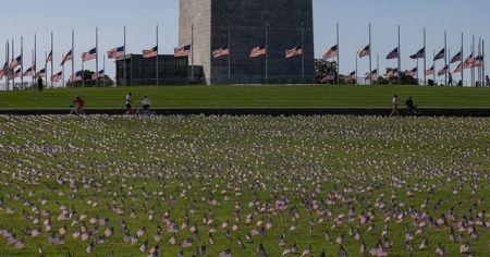 ABD'de Kovid-19 nedeniyle ölenlerin sayısı 263 bin 812'ye çıktı