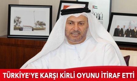 Türkiye'ye karşı kirli oyunu itiraf etti