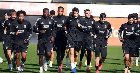 Beşiktaş'ta, Fenerbahçe maçı hazırlıkları başladı