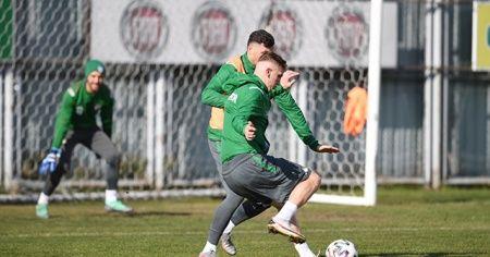 Bursaspor ara vermeden Altay maçı hazırlıklarına başladı