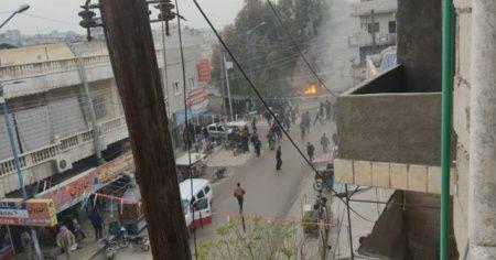 Cerablus'ta patlama: 4 yaralı