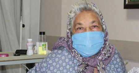 Çocukları öleceğini düşünmüştü! Yaşlı kadın koronavirüsü yendi