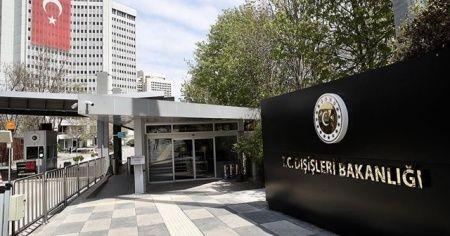 Dışişleri'nden Yunan bakanın Türkiye açıklamasına tepki