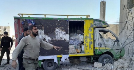 El Bab'da bombalı terör saldırısı: 5 ölü 18 yaralı